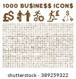 1000 business glyph icons.... | Shutterstock . vector #389259322