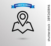 map pointer  icon vector eps 10 ...