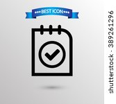 checklist  icon vector eps 10...