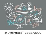 extra graphic elements for... | Shutterstock .eps vector #389273002