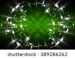 abstract fractal green... | Shutterstock . vector #389286262