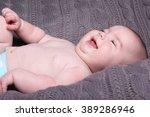 beautiful baby   Shutterstock . vector #389286946