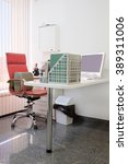 doctor office interior | Shutterstock . vector #389311006