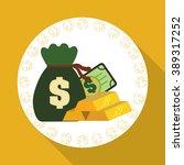 money icon design  | Shutterstock .eps vector #389317252