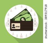 money icon design  | Shutterstock .eps vector #389317918