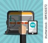 shopping online  design  | Shutterstock .eps vector #389320372