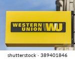 bucharest  romania   march 07 ... | Shutterstock . vector #389401846