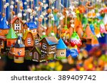 Colorful House Shaped Ceramic...