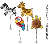 Balloons In The Form Of Animals ...