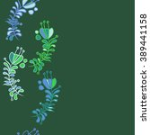 seamless pattern  doodles  ... | Shutterstock . vector #389441158