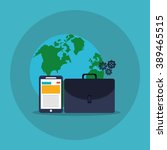 technology icon design  | Shutterstock .eps vector #389465515
