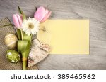 Easter Arrangement With Flower...