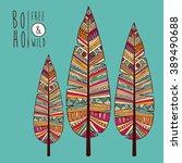 boho style design    Shutterstock .eps vector #389490688