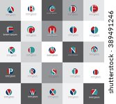 Letters Of The Alphabet Vector...
