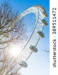 The Famous London Eye Ferris...