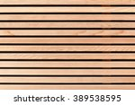 Small photo of Wall covering with wooden slats; Regrowing raw material; Versatile natural material