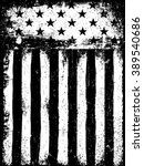 stars and stripes. monochrome... | Shutterstock .eps vector #389540686