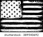 stars and stripes. monochrome... | Shutterstock .eps vector #389540692