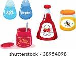 illustration of various objects ... | Shutterstock .eps vector #38954098
