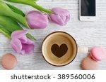 Purple Tulips  Coffee ...