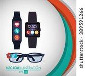 technology icon design  | Shutterstock .eps vector #389591266
