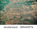 aerial view of an isolated... | Shutterstock . vector #389640976