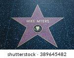 hollywood  california  ... | Shutterstock . vector #389645482