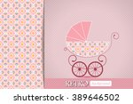 baby shower announcement ...   Shutterstock .eps vector #389646502