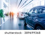 car sales  market place  | Shutterstock . vector #389699368