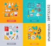 flat design vector illustration ... | Shutterstock .eps vector #389732152