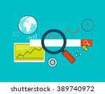 search engine optimization  web ... | Shutterstock .eps vector #389740972