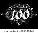typography illustration... | Shutterstock .eps vector #389743162