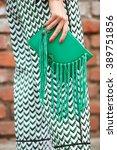 milan   february 25  woman... | Shutterstock . vector #389751856