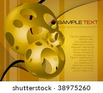abstract fantasy composition  ... | Shutterstock .eps vector #38975260