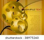 abstract fantasy composition  ... | Shutterstock .eps vector #38975260