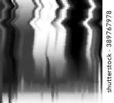black and white abstract vector ... | Shutterstock .eps vector #389767978