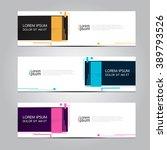 vector design banner... | Shutterstock .eps vector #389793526