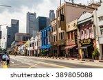 south bridge rd.  july 6 ... | Shutterstock . vector #389805088