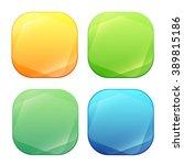 colorful glossy button design...