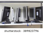 Lot Of Broken Monitors Awaitin...