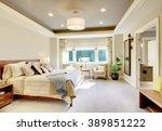 Beautiful Bedroom Interior In...