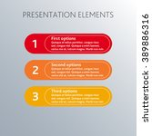 modern design template can be... | Shutterstock .eps vector #389886316