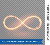 vector magic glowing light... | Shutterstock .eps vector #389916862