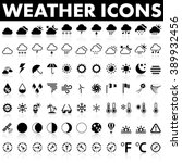 weather icons | Shutterstock .eps vector #389932456