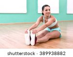 photo of beautiful young sporty ... | Shutterstock . vector #389938882