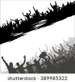 advertising poster for sports... | Shutterstock .eps vector #389985322