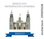 mexico city metropolitan... | Shutterstock .eps vector #390005638