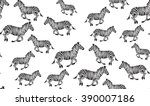 vector seamless pattern of... | Shutterstock .eps vector #390007186