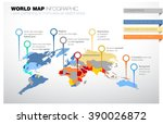 world map with laws pertaining... | Shutterstock .eps vector #390026872