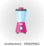 sale of household appliances.... | Shutterstock .eps vector #390039862